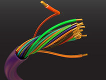 Electric cable Royalty Free Stock Photo