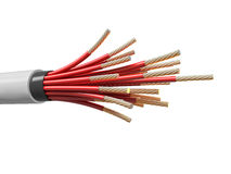 Electric cable Stock Image