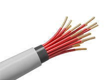 Electric cable Royalty Free Stock Image