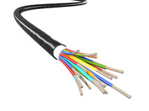 Electric cable Stock Photography
