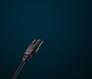 Electric cable with copy space Stock Photography