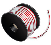 Electric cable reel Stock Images