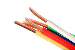 Electric cable Royalty Free Stock Photography