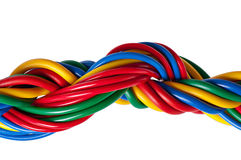 Electric cable Royalty Free Stock Photos