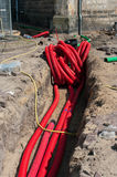 Electric cables Stock Photography