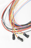 Electric cables Stock Image