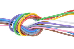 Electric cables Royalty Free Stock Photos