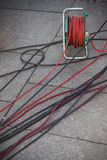 Electric cables Royalty Free Stock Photo