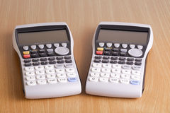 Electric calculator Stock Images