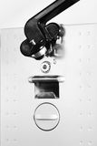 Electric can opener. Close up photo royalty free stock photo
