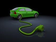 Electric car royalty free illustration