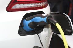 Electric car alimentation Stock Photos