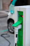 Electric car charger Stock Image