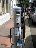 Electric car charger, Brighton, England Royalty Free Stock Photo