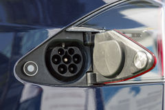 Electric car charger Royalty Free Stock Image
