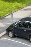 Electric car charging battery Stock Photography