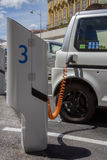 Electric Car - Charging Station Stock Images
