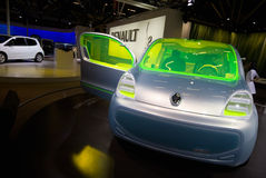 Electric car concept Stock Images