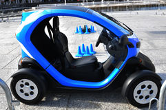 Electric car. On display in Nottingham, UK Stock Photography