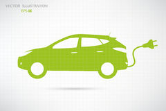 Electric Car. Royalty Free Stock Photography