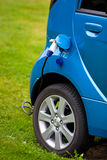 Electric car filling Stock Photos