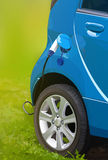 Electric car filling Royalty Free Stock Photos