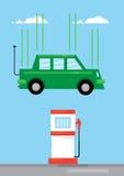 Electric Car Stock Image