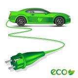 Electric car Stock Photos