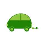 Electric car logo template Stock Photos