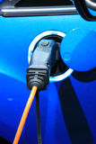 Electric car recharge Stock Photography