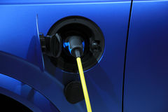 Electric car recharge Royalty Free Stock Images