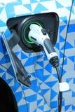 Electric car recharge Stock Photos