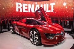 Electric Car Renault DeZir Royalty Free Stock Photos
