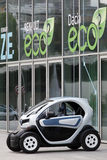 Electric car renault twizy Royalty Free Stock Image