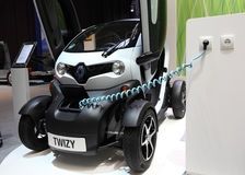 Electric car Renault Twizy Royalty Free Stock Photo