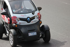 Electric Car Renault Twizy in Monte-Carlo, Monaco Royalty Free Stock Photos