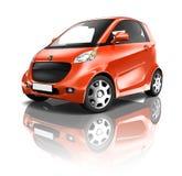 Electric Car Three Dimensional Design Royalty Free Stock Photo