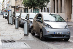 Electric Cars Stock Images