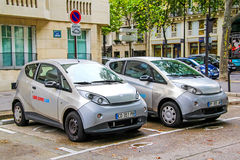 Electric cars Stock Photography