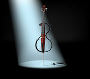 Electric cello Royalty Free Stock Image