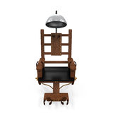 Electric Chair Isolated. On white background. 3D render Royalty Free Stock Image