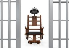 Electric Chair Isolated Royalty Free Stock Images
