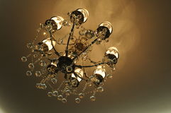 The electric chandelier Royalty Free Stock Photography