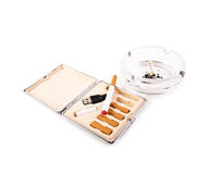 Electric cigarette Stock Images