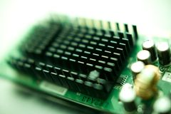Electric circuit board Royalty Free Stock Photos