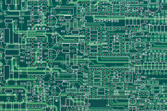 Electric circuit layout Stock Photography