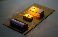 Electric Circuits Series Royalty Free Stock Photos