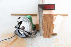 Electric circular saw Stock Photo