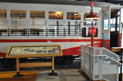 Electric City Trolley Museum in Scranton royalty free stock photos