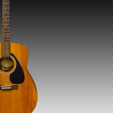 Electric classic guitar Royalty Free Stock Photos
